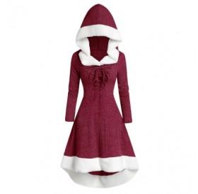 Hooded Long Sleeve Dress