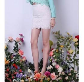 Bodycon Lace Mini Skirt