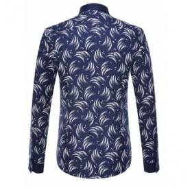 Turn-Down Collar Long Sleeve Shirt